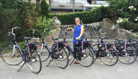 Hotel Moers with new Ebikes